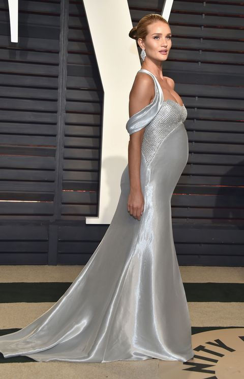 Rosie Huntington-Whiteley at the Oscars after-party