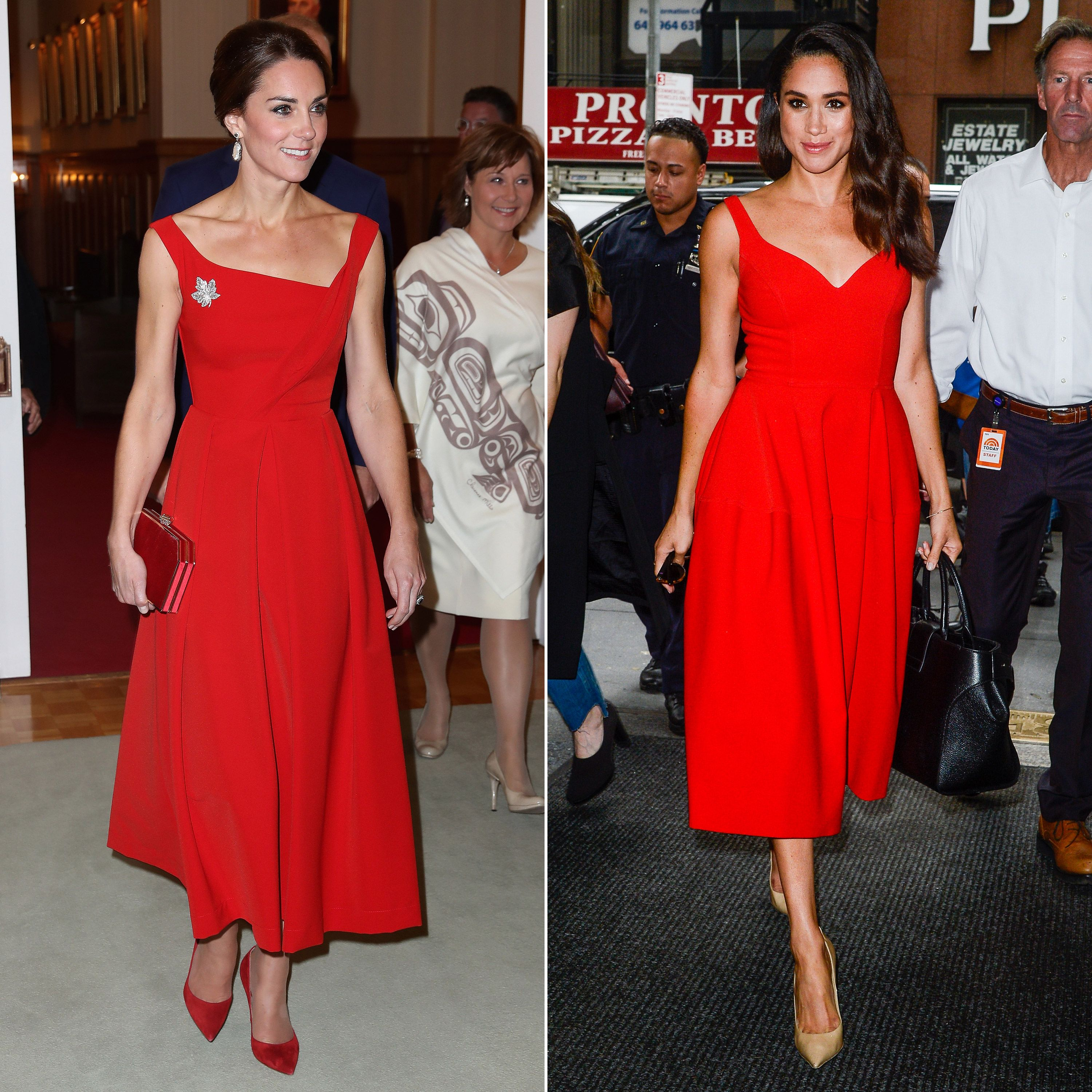 a2809974 Meghan Markle and Kate Middleton's matching fashion - similar style moments