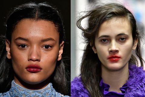 Preen temperley red lipstick