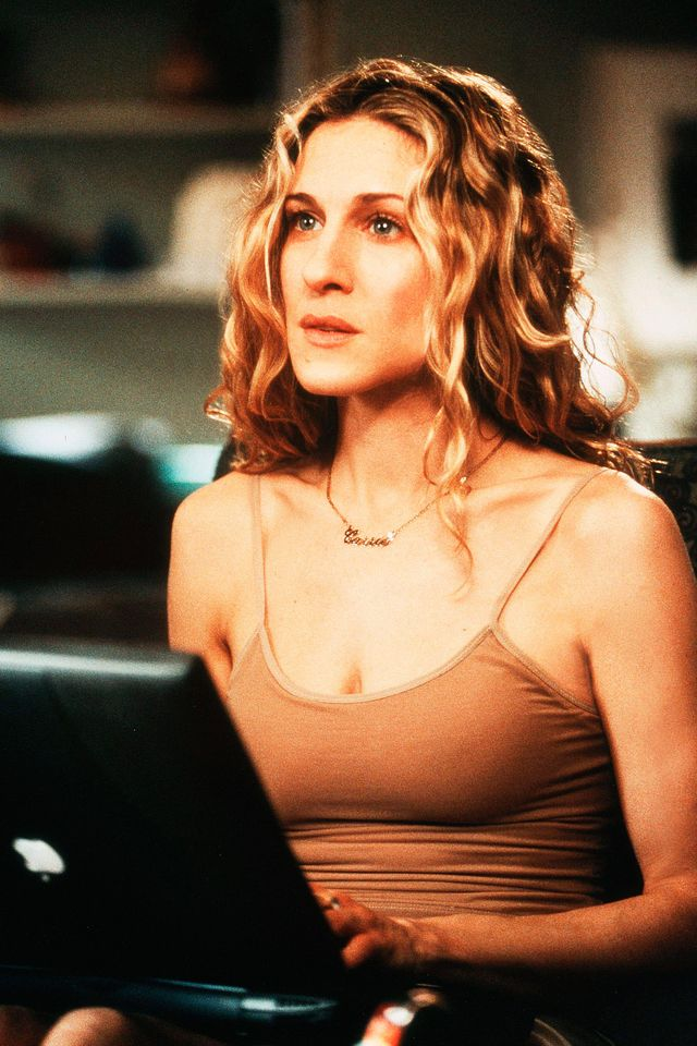 carrie bradshaw in 'sex and the city'