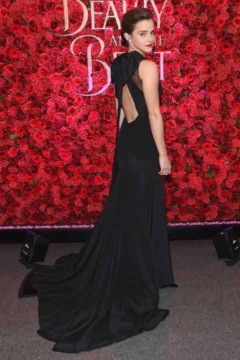 Emma Watson wearing Givenchy