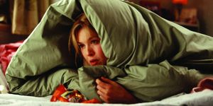 Renee Zellweger, 'Bridget Jones: The Edge of Reason', eating in bed, late night snacking