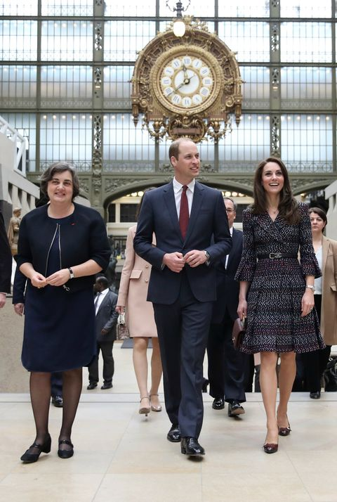 The Duke and Duchess of Cambridge - Kate and William's - royal visit to Paris