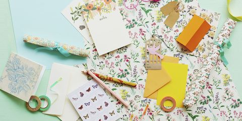 Yellow, Paper product, Stationery, Paper, Craft,