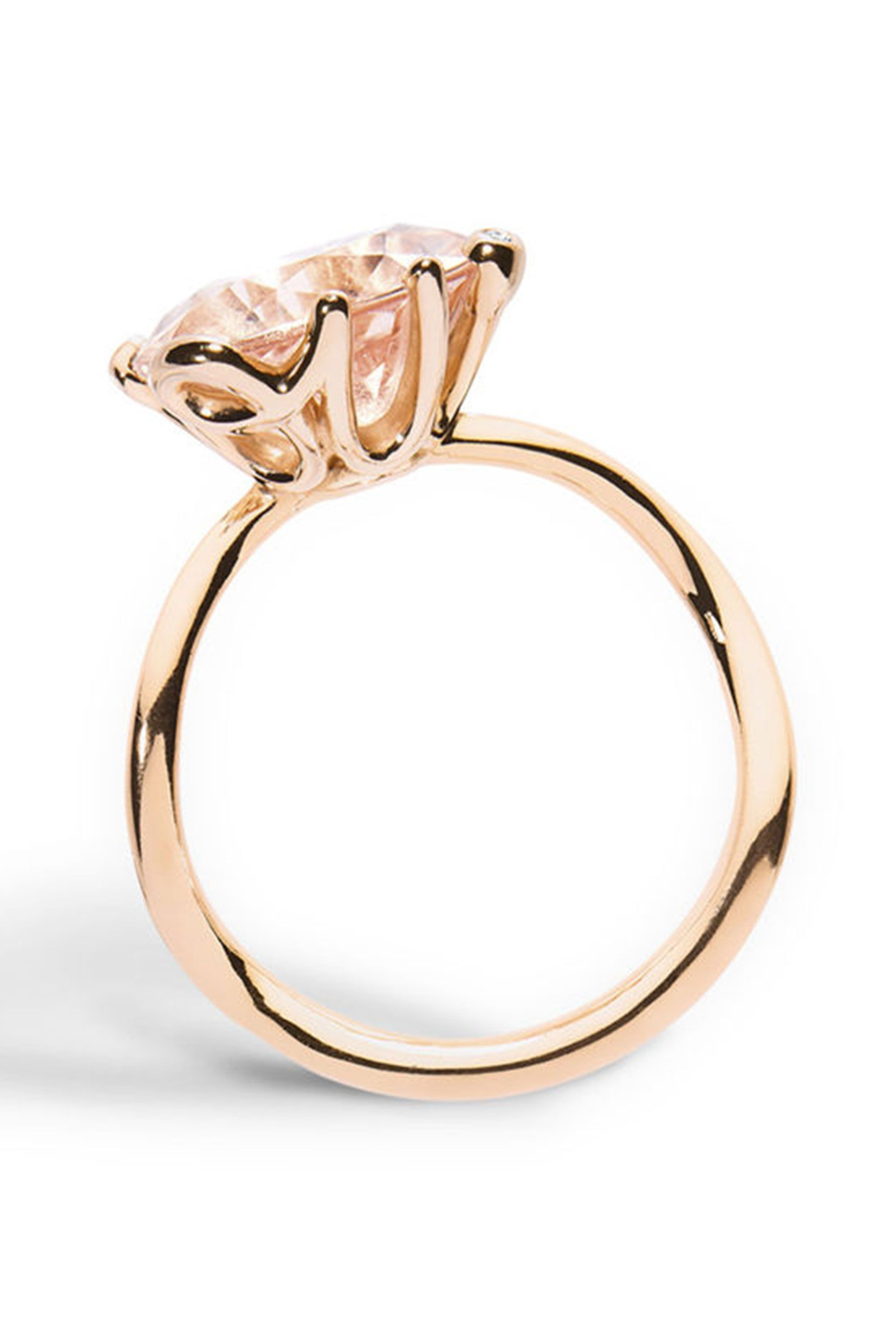 quartz gold drop ring wild rose wedding chupi products the rings and in