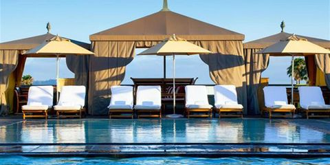 Swimming pool, Resort, Property, Building, Leisure, Shade, Vacation, Real estate, House, Sunlounger,