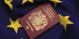 The British passport may change colour