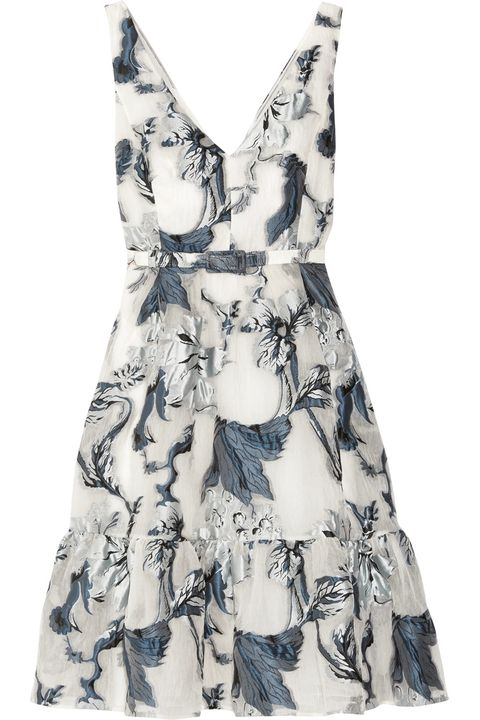 Erdem Wedding Guest Dress Look