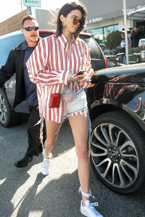 White, Street fashion, Fashion, Luxury vehicle, Vehicle, Leg, Automotive design, Snapshot, Car, Footwear,