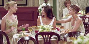 Monica and Chandler's wedding on 'Friends'