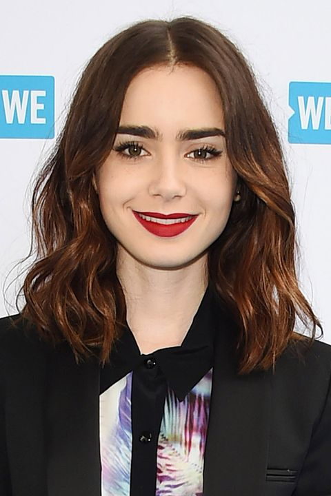 Lily Collins Beauty Muse
