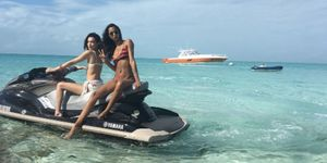 Lais Ribero and Bella Hadid promoted Fyre Festival