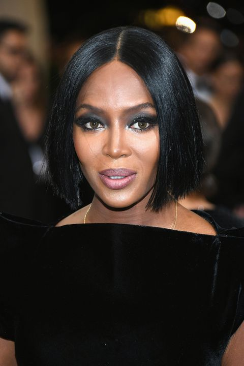 Naomi Campbell Hair Loss And Suffering Bald Patches