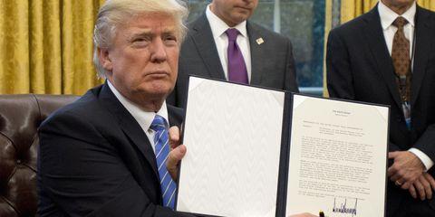 Donald Trump impeachment | ELLE UK
