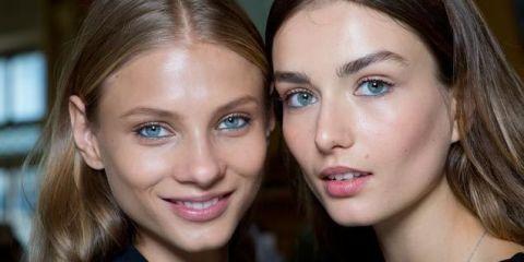 Hair, Face, Blond, Eyebrow, Lip, Skin, Nose, Beauty, Hairstyle, Cheek,