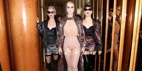 Clothing, Fashion, Latex, Latex clothing, Leg, Fetish model, Gothic fashion, Stocking, Mannequin, Agent provocateur,