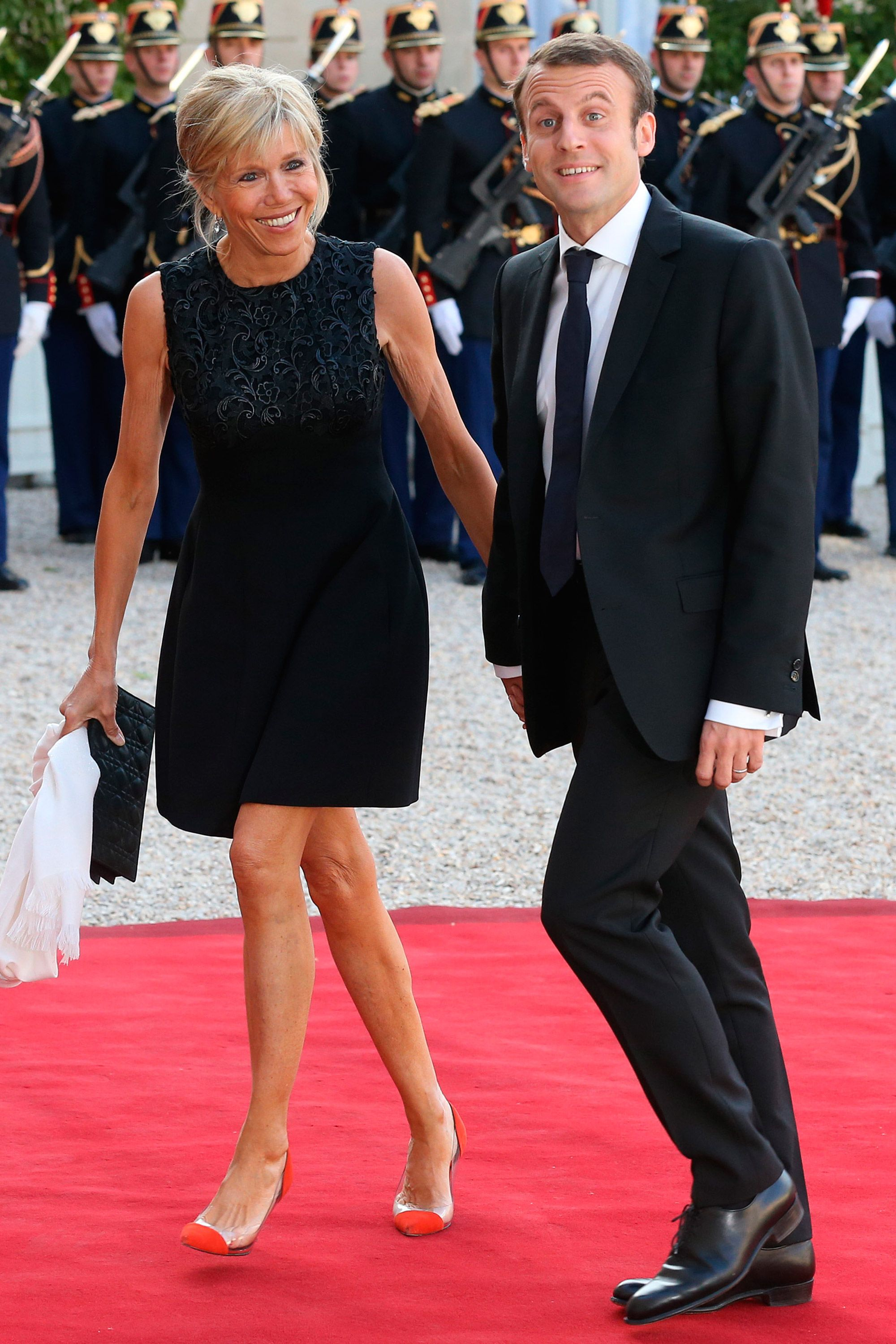 Emmanuel Macron On His Wife S Age Emmanuel Macron Addresses Brigitte Trogneaux S Age
