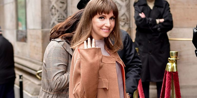 Lena Dunham Has Cut All Her Hair Off Lena Dunham Pixie Crop