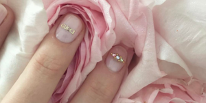 Gucci manicure on Petra Collins