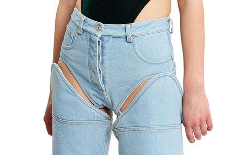 Clothing, Blue, Product, Denim, Sleeve, Shoulder, Textile, Joint, White, Pocket,
