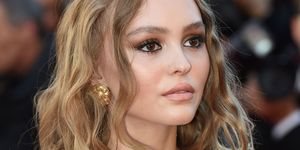 Lily-Rose Depp's Chanel make-up at Cannes