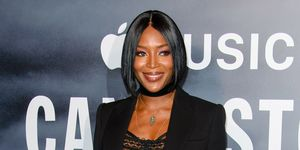 Naomi Campbell hair loss