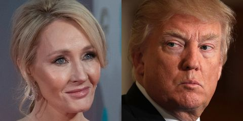 J.K. Rowling and Donald Trump
