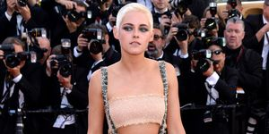 Kristen Stewart on the Cannes red carpet