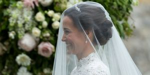 Pippa Middleton's wedding hairstyle