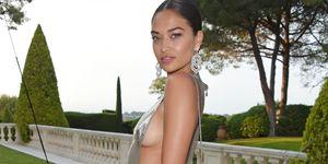 Cannes amfAR Naked dresses