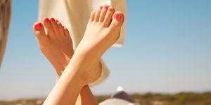 pedicure tips from Marian Newman