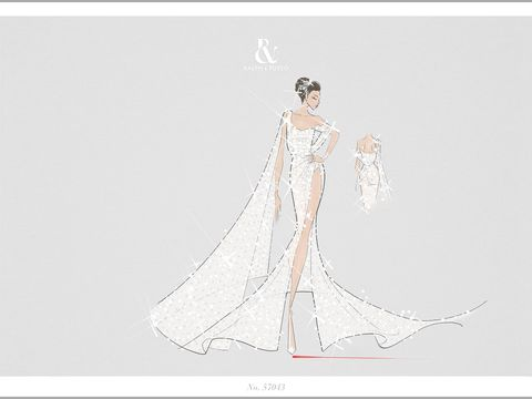 Bella Hadid's Ralph & Russo Cannes dress