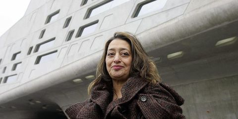 Dame Zaha Hadid honoured with Google Doodle