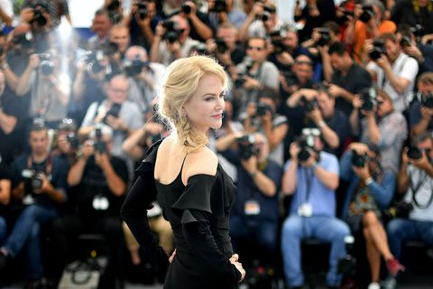 Nicole Kidman says shemarried Tom Cruise for protection