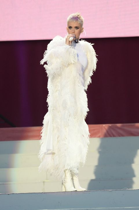 Katy Perry at the One Love Manchester concert