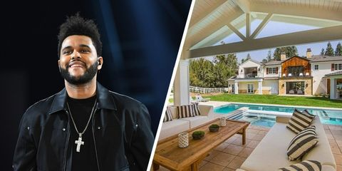 Inside The Weeknd's incredible $20 Million Los Angeles mansion