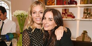 Sienna Miller and Wendy Rowe