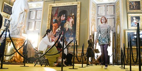 Gucci Cruise 2018 collection in Florence