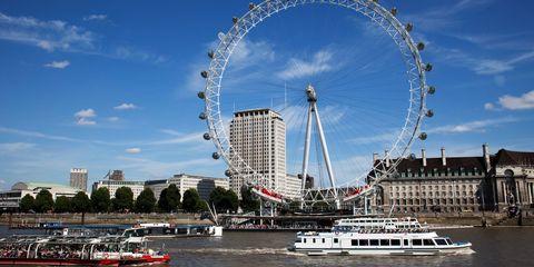 River Thames London Eye