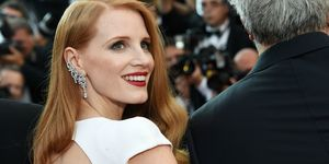 Jessica Chastain at the Cannes Closing Ceremony