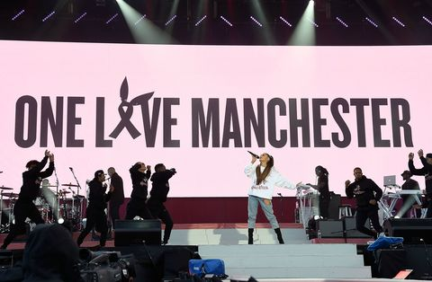 Ariane Grande One Love Manchester concert pictures