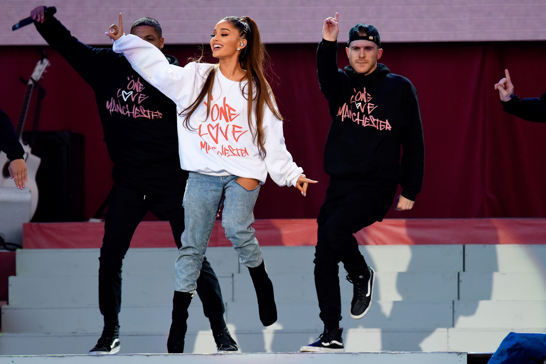 da63c420 Where to buy Ariana Grande's One Love Manchester sweater | Manchester  concert merchandise