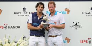Nacho Figueras and Prince Harry