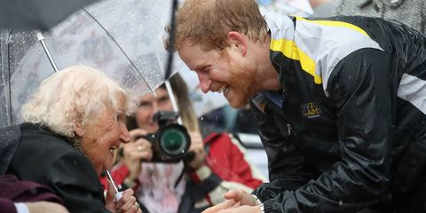 Prince Harry and Sydney woman   ELLE UK