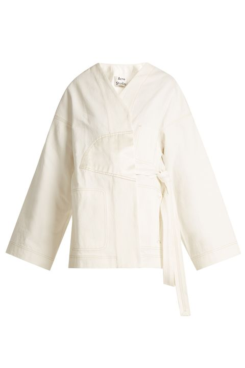 White, Clothing, Sleeve, Outerwear, Ivory, Blouse, Beige, Collar, Top, Robe,
