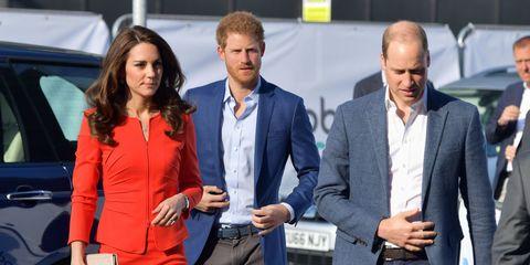 Kate Middleton, Prince Harry, Prince William