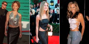 Celebrities wearing going-out tops