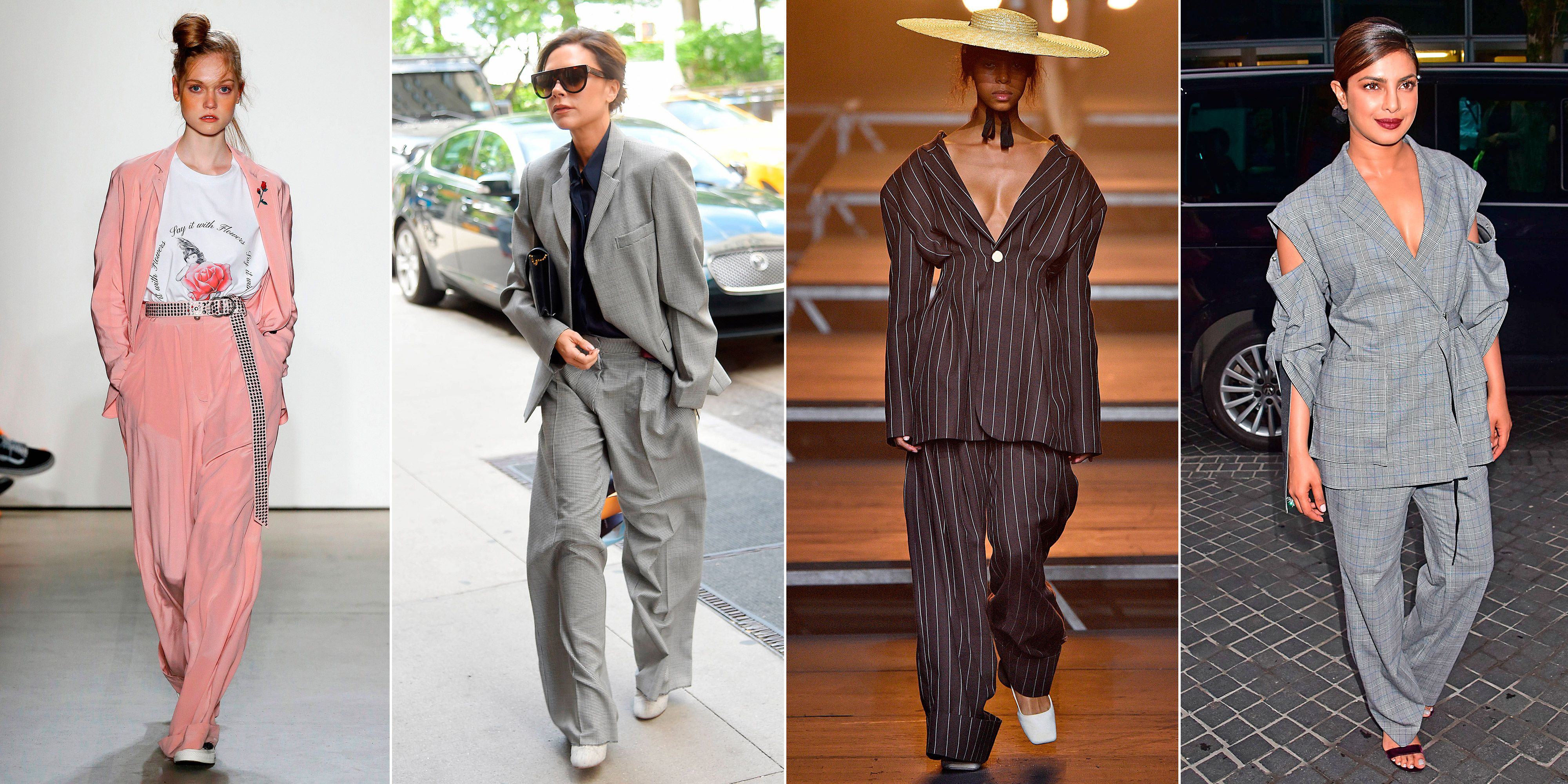 summer trouser suits trend 2017 women s oversized trouser suits