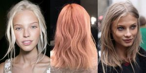 New blonde hair colour trends summer 2017