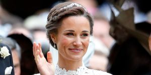 Pippa Middleton on her wedding day